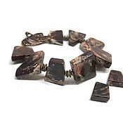 Украшения handmade. Livemaster - original item Bracelet Jasper-chocolate natural stones, accessories Anna Chernykh. Handmade.