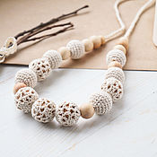 Одежда handmade. Livemaster - original item Slingobusy ivory - Laced. Handmade.