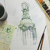 Картины и панно ручной работы. Ярмарка Мастеров - ручная работа прогулки по Питеру. Handmade.