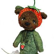 """Куклы и игрушки ручной работы. Ярмарка Мастеров - ручная работа Фруттомишка """" Клубничка"""". Handmade."""