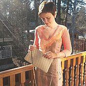 """Одежда ручной работы. Ярмарка Мастеров - ручная работа Валяное платье """"Коралл"""". Handmade."""