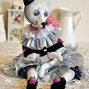 Куклы и игрушки ручной работы. Ярмарка Мастеров - ручная работа Будуарная Мишка. Handmade.