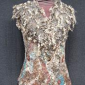 """Одежда ручной работы. Ярмарка Мастеров - ручная работа Жилет """"Ландшафт"""". Handmade."""