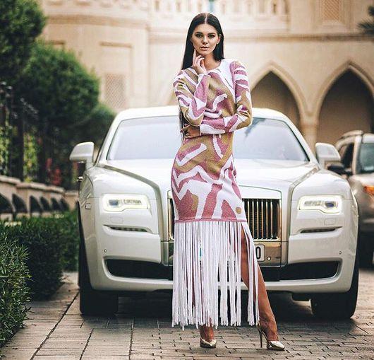 """Платья ручной работы. Ярмарка Мастеров - ручная работа. Купить Платье """" Burj Khalifa"""". Handmade. Бледно-розовый, платье"""