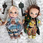 Мягкие игрушки ручной работы. Ярмарка Мастеров - ручная работа Хранители леса. Мини-куколки. Handmade.