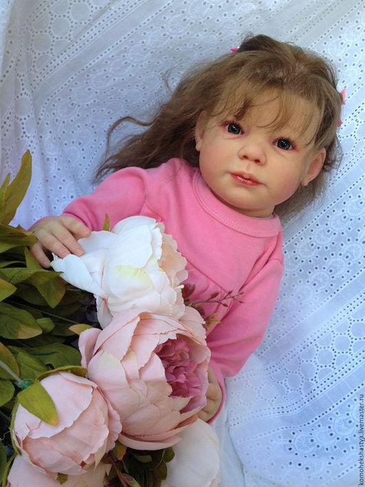 Куклы-младенцы и reborn ручной работы. Ярмарка Мастеров - ручная работа. Купить Кукла реборн Алсу.. Handmade. Кремовый, кукла