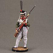 Сувениры и подарки handmade. Livemaster - original item Tin soldier 54 mm. in rospisi.ekcastings. The Napoleonic Wars. Handmade.