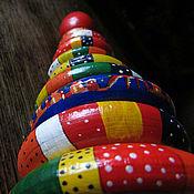 """Куклы и игрушки ручной работы. Ярмарка Мастеров - ручная работа Пирамидка детская """"Волшебная"""". Handmade."""