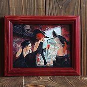 Слова ручной работы. Ярмарка Мастеров - ручная работа Изображение на доске в рамке. Handmade.
