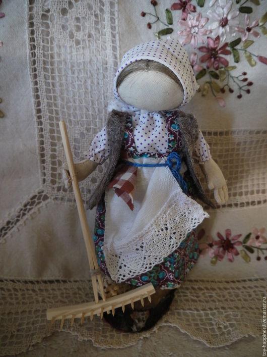 Коллекционные куклы ручной работы. Ярмарка Мастеров - ручная работа. Купить Кукла-образ На сенокосе. Handmade. Белый
