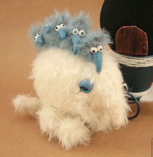 Мишки Тедди ручной работы. Ярмарка Мастеров - ручная работа. Купить Времена Года - Зима (Снеж). Handmade. Ярко-красный