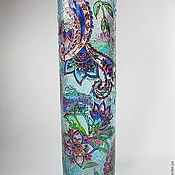 """Для дома и интерьера ручной работы. Ярмарка Мастеров - ручная работа Ваза""""Таинственный сад"""". Handmade."""