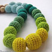 Одежда ручной работы. Ярмарка Мастеров - ручная работа Слингобусы желто-зеленые. Handmade.