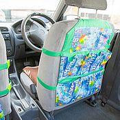 Комплекты аксессуаров для дома ручной работы. Ярмарка Мастеров - ручная работа Детский органайзер для автомобиля на переднее сидение. Handmade.