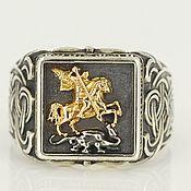 Украшения handmade. Livemaster - original item Ring: Men`s ring George. Handmade.