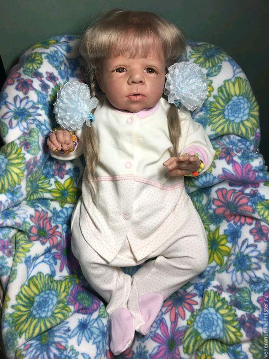 Коллекционные куклы ручной работы. Ярмарка Мастеров - ручная работа. Купить В наличии !!! Кукла реборн Millie от скульптора Olga Auer. Handmade.