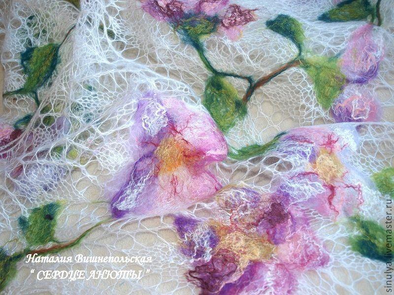 Вязание из шерсти из валяния 48