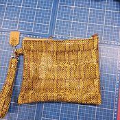 Сумки и аксессуары handmade. Livemaster - original item Leather clutch bag art45. Handmade.