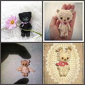 Куклы и игрушки ручной работы. Ярмарка Мастеров - ручная работа Мини мишки-тедди. Handmade.
