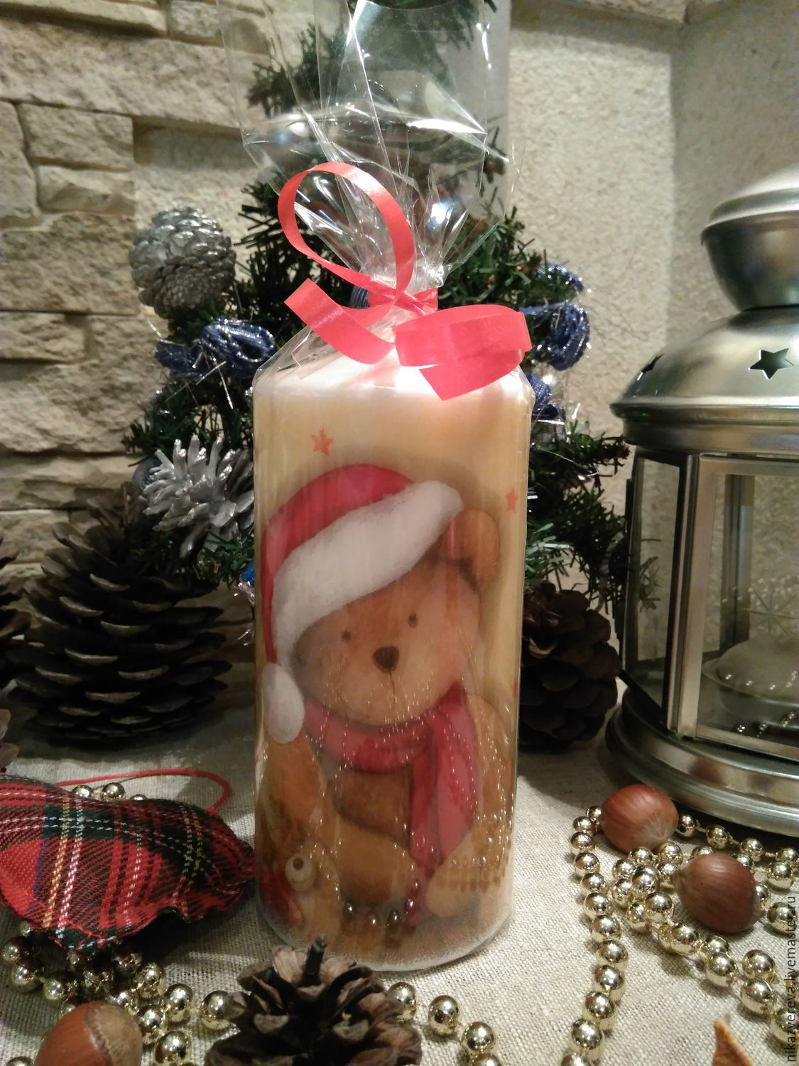 Candles Christmas bear, Candles, St. Petersburg,  Фото №1