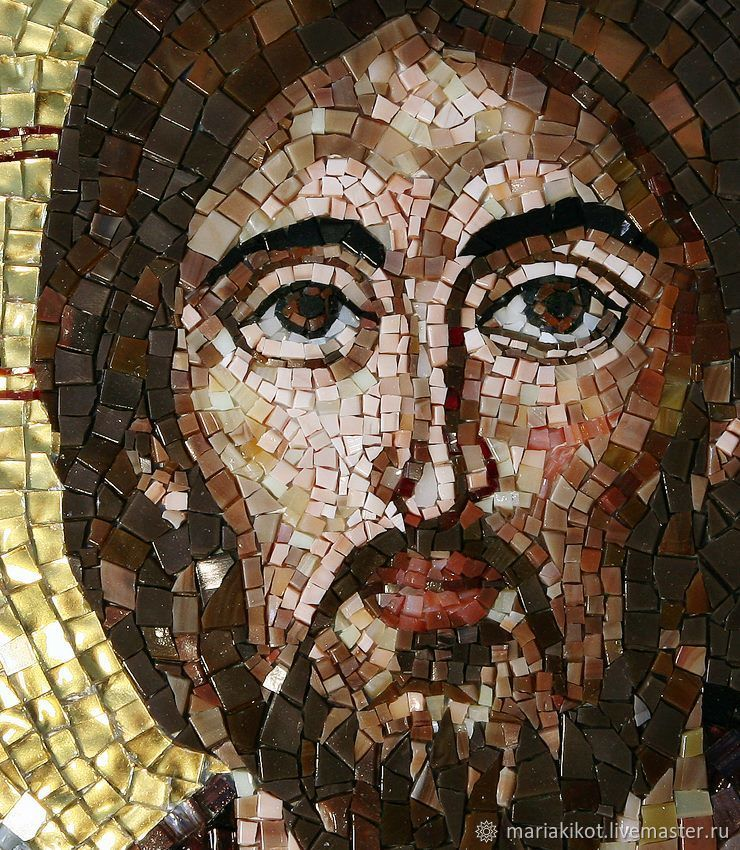 Мозаичная Икона Спаситель Синайский