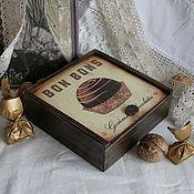 """Для дома и интерьера ручной работы. Ярмарка Мастеров - ручная работа бонбоньерка """" Bon bons"""". Handmade."""