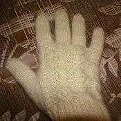 Аксессуары ручной работы. Ярмарка Мастеров - ручная работа Вязаные перчатки. Handmade.