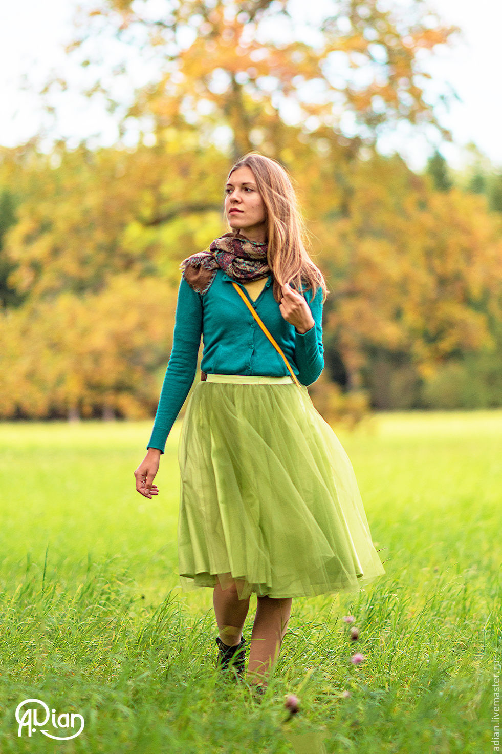 Юбка Зеленая Доставка
