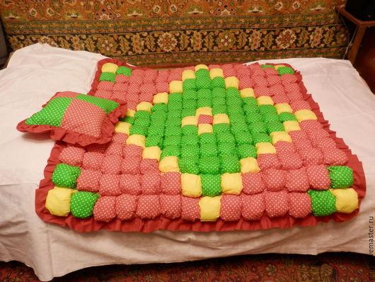 Пледы и одеяла ручной работы. Ярмарка Мастеров - ручная работа. Купить Развивающий коврик для детей.. Handmade. Разноцветный, развивающая игрушка