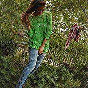 Одежда ручной работы. Ярмарка Мастеров - ручная работа Зеленый ананас.. Handmade.