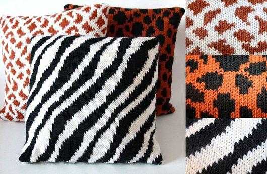 """Текстиль, ковры ручной работы. Ярмарка Мастеров - ручная работа. Купить Диванные подушки """"Сафари"""". Handmade. Диванные подушки, шерсть"""