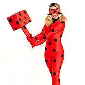 Одежда handmade. Livemaster - original item Costume for animator Lady Bug with skirt handmade, video. Handmade.