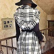 Одежда ручной работы. Ярмарка Мастеров - ручная работа Накидка с капюшоном. Handmade.