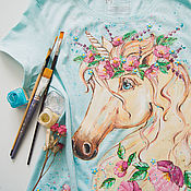 Одежда handmade. Livemaster - original item T-Shirt Magical Unicorn. Handmade.