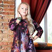 """Одежда ручной работы. Ярмарка Мастеров - ручная работа Авторское валяное платье """"Fabulous bloom """". Handmade."""