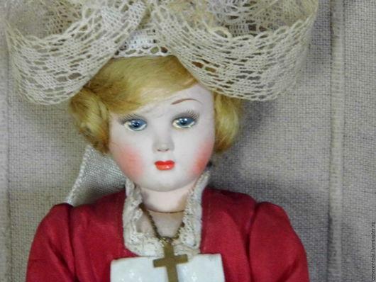 Винтажные куклы и игрушки. Ярмарка Мастеров - ручная работа. Купить французская винтажная кукла Les Poupees Cadette. Handmade. Комбинированный