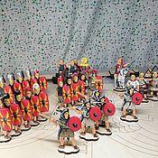 Куклы и игрушки handmade. Livemaster - original item The Legionnaires of the Roman Republic. Handmade.