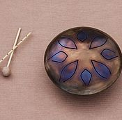Музыкальные инструменты handmade. Livemaster - original item Forged Glucophone-medium size22,5 cm.. Handmade.