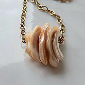 Украшения handmade. Livemaster - original item Suspension: Necklace on a chain Caramel. Handmade.
