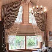 Для дома и интерьера handmade. Livemaster - original item CURTAINS: Curtains for home