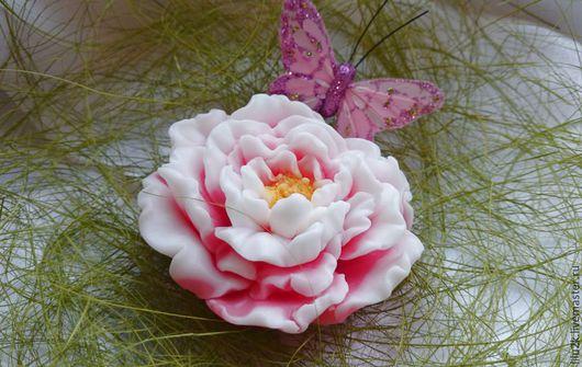 мыло розовый пион