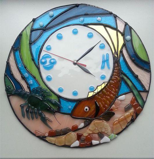 """Часы для дома ручной работы. Ярмарка Мастеров - ручная работа. Купить Часы """" Идеальная пара"""". Handmade. Часы настенные"""