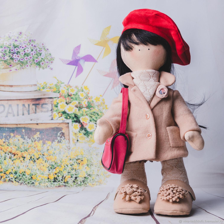 Кукла текстильная интерьерная Амели, Тыквоголовка, Новосибирск,  Фото №1