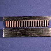 Сувениры и подарки handmade. Livemaster - original item Comb wooden in box of oak 5400 years var.3. Handmade.