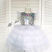 Платья ручной работы. Ярмарка Мастеров - ручная работа Сказочное платье для принцессы. Handmade.