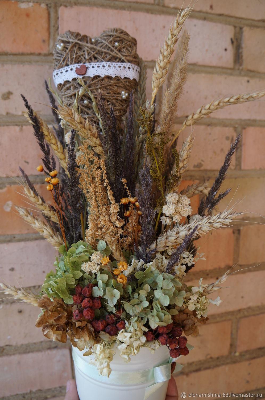 Заказать композицию из сухоцветов осень цветы с доставкой первоуральск