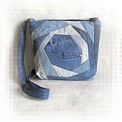 Сумки и аксессуары ручной работы. Ярмарка Мастеров - ручная работа Джинсовая сумка Crazy Style. Handmade.