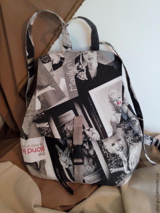 стильный рюкзак ручной работы для девушки