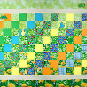 """Для дома и интерьера ручной работы. Ярмарка Мастеров - ручная работа Покрывало """"Одуванчик 2"""". Handmade."""
