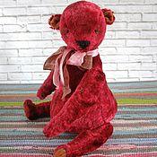 Куклы и игрушки ручной работы. Ярмарка Мастеров - ручная работа Мишка Красныш. Handmade.